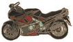 Jelvény Kawasaki ZZR600 piros