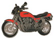 Jelvény Kawasaki Zephyr piros