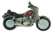 Jelvény Kawasaki VN750 fekete/piros