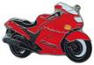 Jelvény Kawasaki ZZR1100 ´95 piros