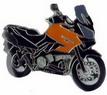 Jelvény Kawasaki KLV1000 ´04 narancs