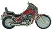 Jelvény Suzuki VS 800 Intruder piros