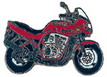Jelvény Suzuki GSF600S Bandit ´95 piros