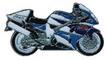 Jelvény Suzuki TL1000R ´98 kék