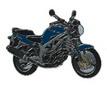 Jelvény Suzuki SV650 kék