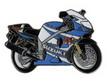 Jelvény Suzuki GSX-R1000 kék