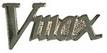 Jelvény Yamaha V-Max  logo ezüst