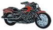 Jelvény Yamaha XVS650 DragStar narancs