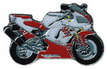 Jelvény Yamaha YZF-R1 ´98 piros