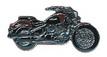 Jelvény Yamaha XVS1100 DragStar piros