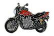 Jelvény Yamaha XJR1300 SP piros
