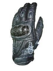 B-STAR protektoros bőrkesztyű