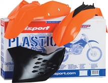 Polisport kit KTM EXC '08 narancs+ fejidom 90183-9