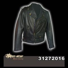 "B-STAR, ""Brando"" fazonú analin bőrkabát 2016"