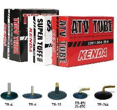 Kenda 19-100/90 (19-4,00) TUFF TUBE TR-6, erősített gumibelső egyenes szeleppel